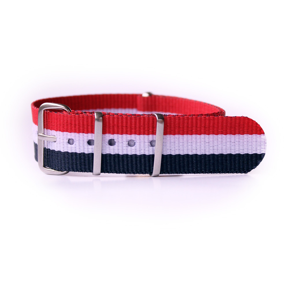 3699a22d7 nato strap red/white/blue – messness store